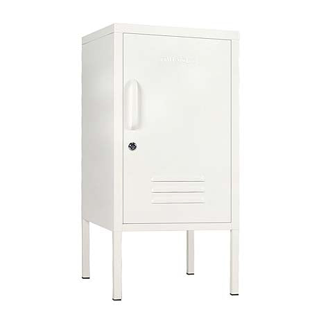 SIDE TABLE | BEDSIDE | shorty design in white by mustard made