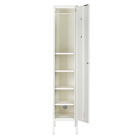 STORAGE | skinny design in white by mustard made
