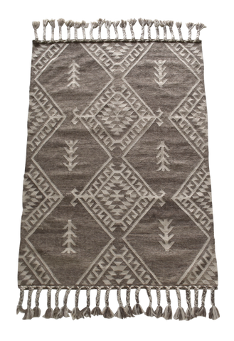 FLOOR RUG | Turchia Taupe Wool by OHH