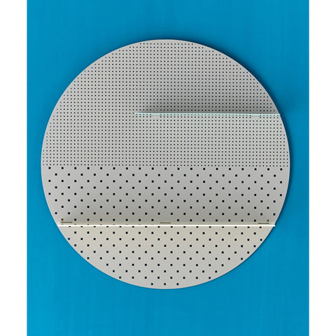 ... SHELF | White Mesh Circle By Bride + Wolfe ...