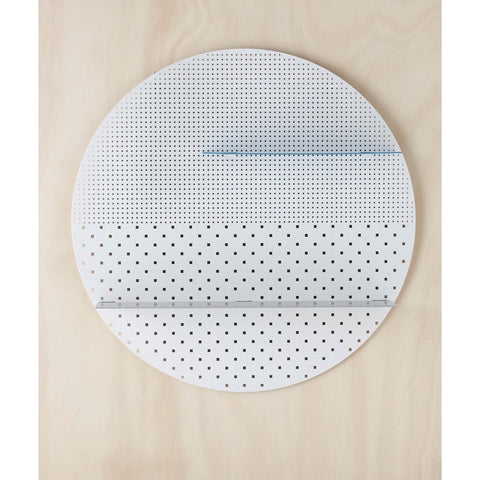 SHELF | white mesh circle by bride + wolfe
