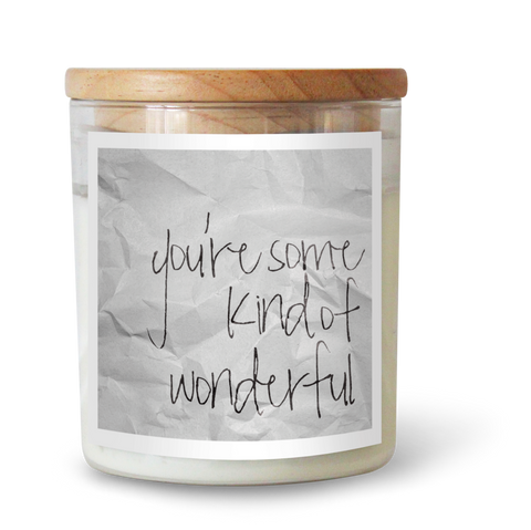 CANDLE | You're Some Kind of Wonderful by The Commonfolk Collective