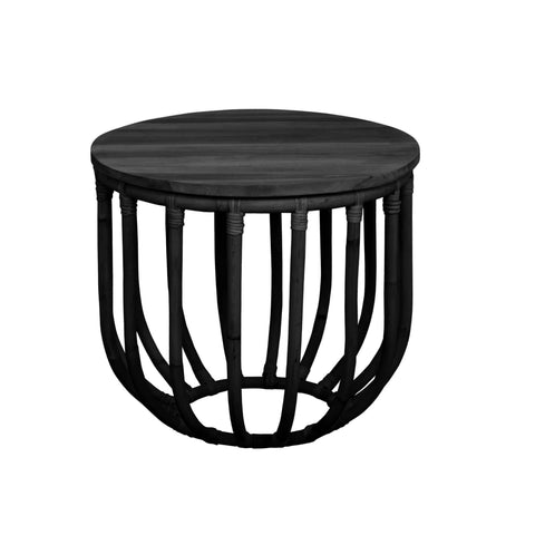 SIDE TABLE | aikko design in black by mrd home