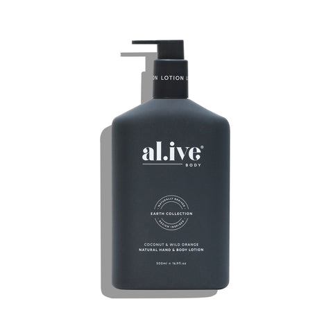 HAND & BODY LOTION | Coconut & Wild Orange by al.ive body