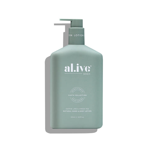 HAND & BODY LOTION | Kaffir Lime & Green Tea by al.ive body