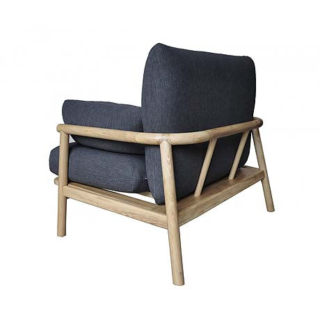 OCCASIONAL CHAIR | norm design in charcoal by MRD