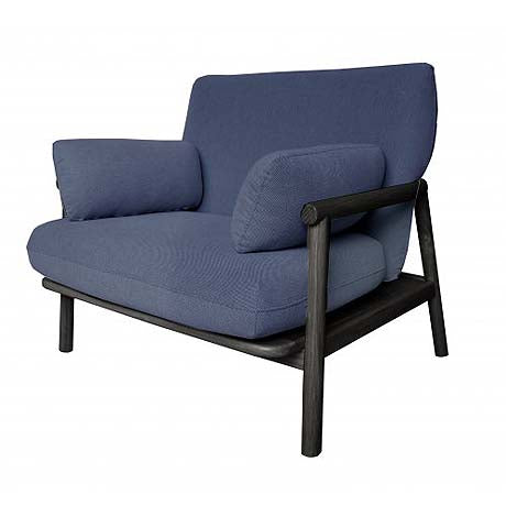 OCCASIONAL CHAIR | norm design in navy by MRD