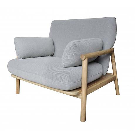OCCASIONAL CHAIR | norm design in pale grey by MRD