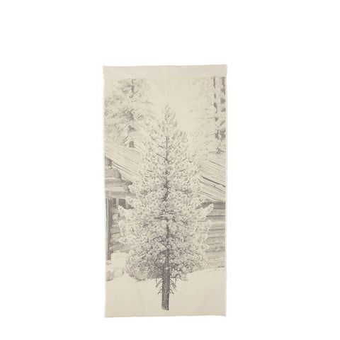 WALL BANNER | festive tree design by pony rider
