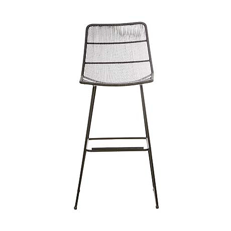 BAR STOOL | granada design in liquorice by Globewest