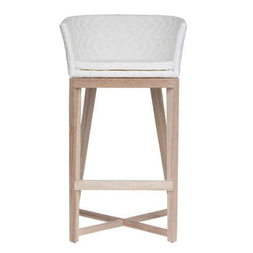 BAR STOOL | mossel bay design in white by uniqwa