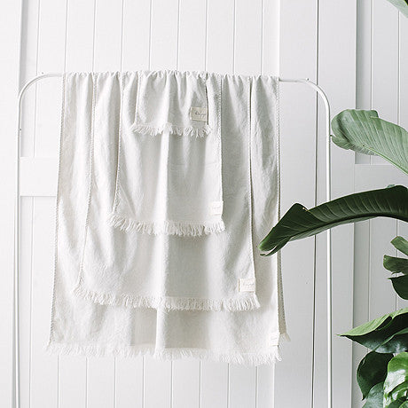 HAND TOWEL | clay hand towel by the beach people
