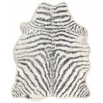 FLOOR RUG | BATH MAT | zebra design by hk living