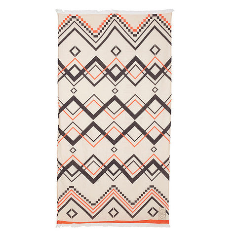 BEACH TOWEL | ancient times design by pony rider