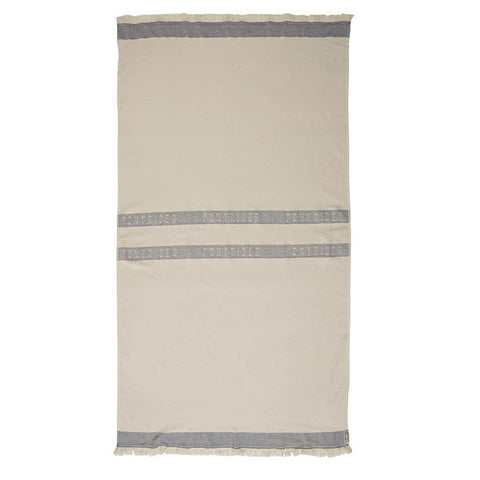 BEACH TOWEL | skipper stripe design by pony rider