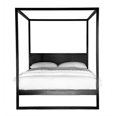 BED | queen or king strand 4 poster in black by uniqwa