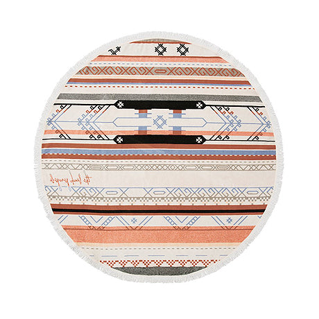 BEACH TOWEL | bedouin design roundie by the beach people