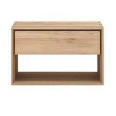 BEDSIDE TABLE | nordic in oak by ethnicraft