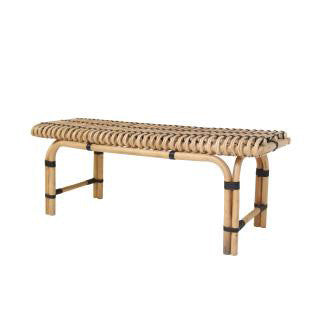 BENCH | woven rattan by hk living
