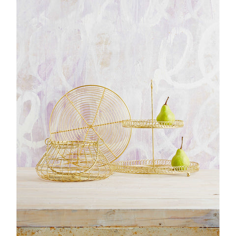 BASKET | in brass by robert gordon