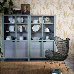 CABINET | display cabinet in army green by hk living