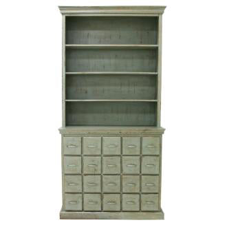 CABINET | drawer cabinet in antique green by hk living