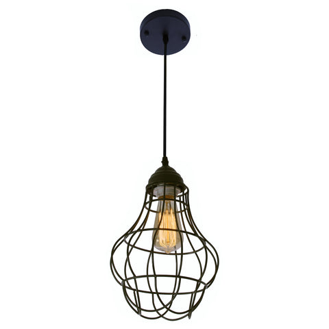 PENDANT LIGHT |  scallop cage