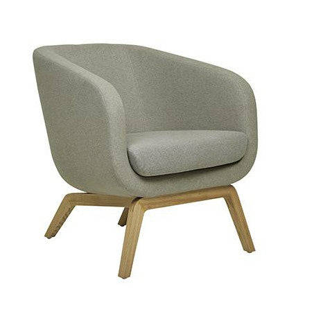OCCASIONAL CHAIR | juno tub in silver grey by GlobeWest