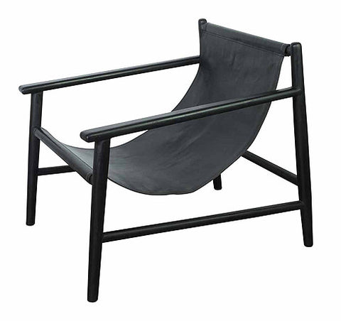 OCCASIONAL CHAIR | bolan black on black