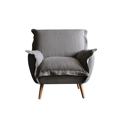 CHAIR | charlotte in dove grey by satara living