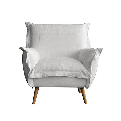 CHAIR | charlotte in white by satara living