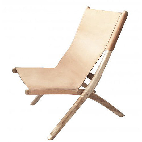 CHAIR | favela folding chair in nude by MRD Home