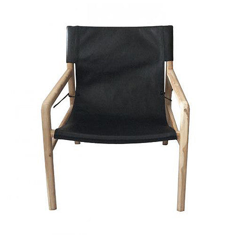 OCCASIONAL CHAIR | black jasper sling-back by MRD Home