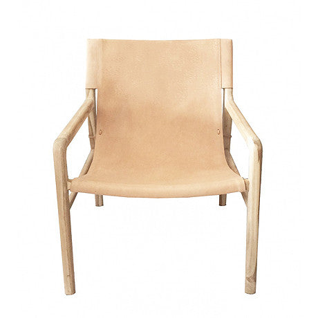 OCCASIONAL CHAIR | nude (blush) jasper sling-back by MRD Home