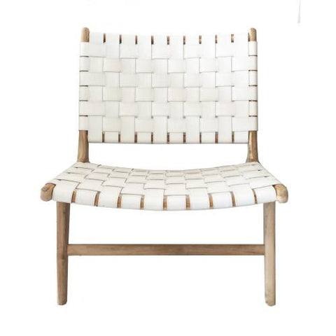 OCCASIONAL CHAIR | sentosa in white by MRD Home