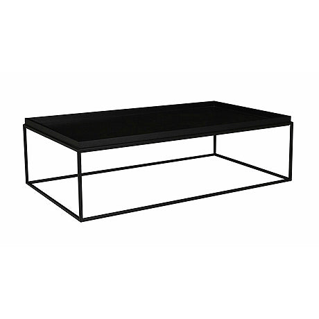 COFFEE TABLE | soho cirque design in dark wenge by globewest