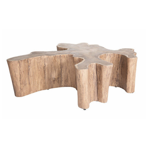 COFFEE TABLE | natural timber by uniqwa