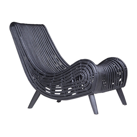 ARMCHAIR | congo design in black by uniqwa