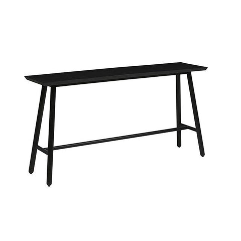 CONSOLE | charcoal linea tri-console by globewest