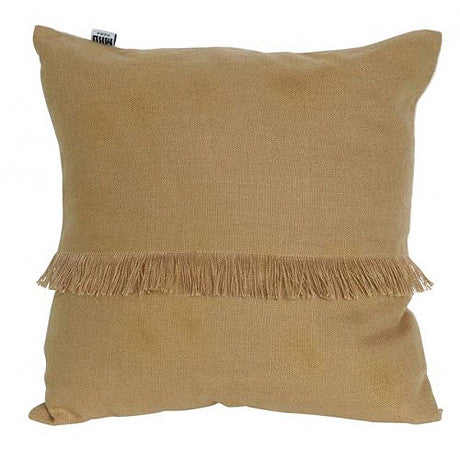 CUSHION | annika fringed design in cork by mrd home