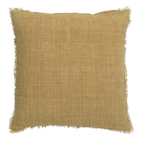 CUSHION | burton design in ochre by L+M Home