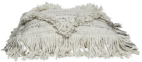 CUSHION | saskia fringe design by globewest
