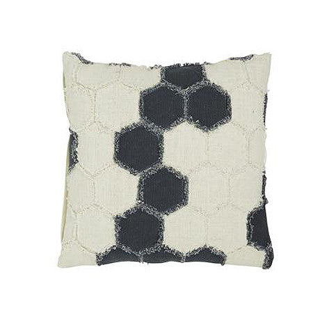 CUSHION | saskia hexagon design by globewest