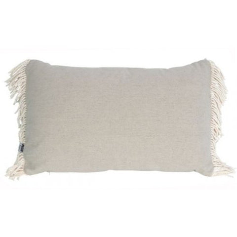 CUSHION | ines fringe design in sand by mrd home
