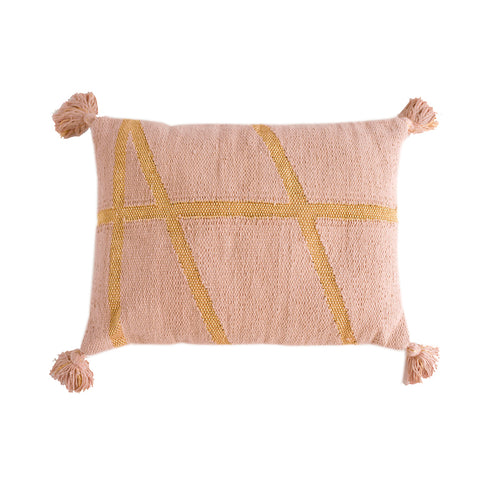 CUSHION | little bling in pink + gold by OHH