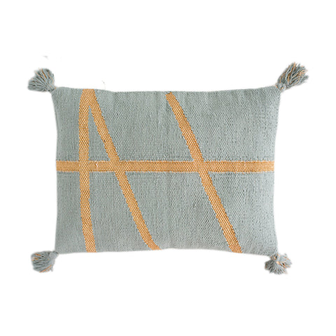 CUSHION | little bling in seafoam + gold by OHH