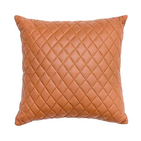 CUSHION | pages quilted design in tan by Amigos de Hoy