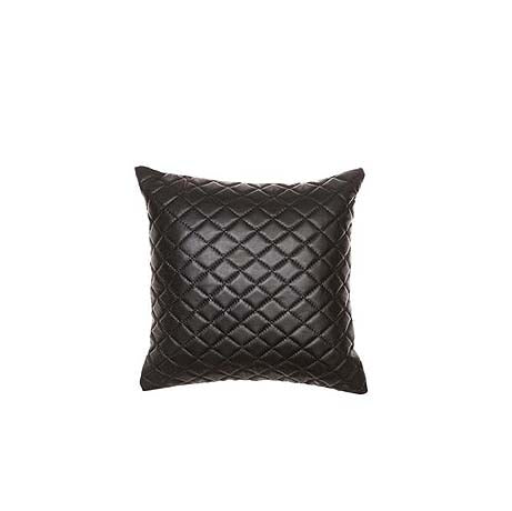 CUSHION | pages quilted design in black by Amigos de Hoy