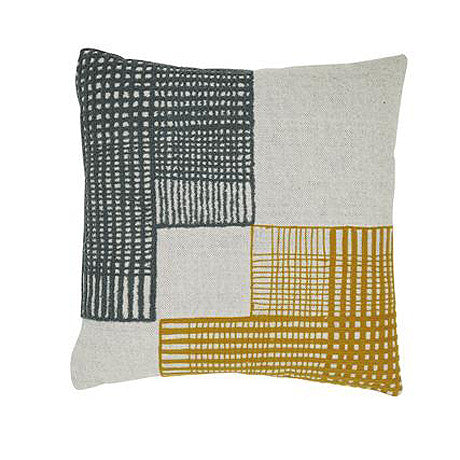 CUSHION | saskia patch design by globewest