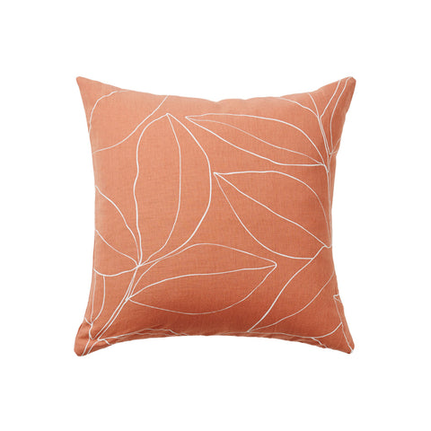 CUSHION | persimmon botanical design by milk + sugar
